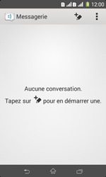 Sony Xpéria E1 Dual - Contact, Appels, SMS/MMS - Envoyer un SMS - Étape 4