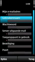 Nokia X6-00 - E-mail - Handmatig instellen - Stap 27