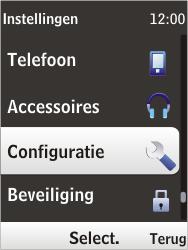 Nokia 6303i classic - MMS - handmatig instellen - Stap 4