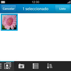 BlackBerry Q5 - E-mail - Escribir y enviar un correo electrónico - Paso 14
