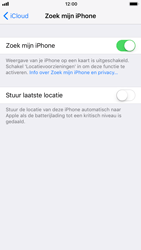 Apple iPhone 7 iOS 11 - Beveiliging en privacy - zoek mijn iPhone activeren - Stap 7