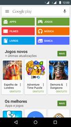 Motorola Moto G (2ª Geração) - Aplicativos - Como baixar aplicativos - Etapa 4