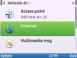 Nokia E5-00 - Internet - Manual configuration - Step 7