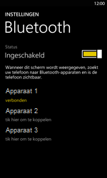 Nokia Lumia 820 LTE - Bluetooth - Headset, carkit verbinding - Stap 8