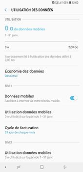 Samsung Galaxy A7 2018 - Internet et connexion - Désactiver la connexion Internet - Étape 6