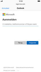 Apple iPhone 8 - iOS 12 - E-mail - e-mail instellen (outlook) - Stap 6