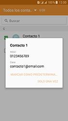 Samsung Galaxy J3 (2016) DualSim (J320) - Mensajería - Escribir y enviar un mensaje multimedia - Paso 7