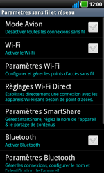 LG P970 Optimus Black - Wifi - configuration manuelle - Étape 4