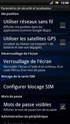 Sony Ericsson Xpéria Arc - Sécuriser votre mobile - Activer le code de verrouillage - Étape 11