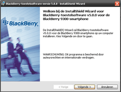 BlackBerry 9300 Curve 3G - Software - Update installeren via PC - Stap 9