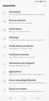 Samsung Galaxy S8+ - Applications - Supprimer une application - Étape 4