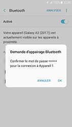 Samsung Galaxy A3 (2017) - Bluetooth - connexion Bluetooth - Étape 10