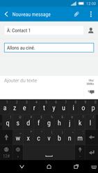 HTC One M8s - MMS - envoi d'images - Étape 11