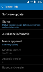 Samsung G318H Galaxy Trend 2 Lite - Software update - update installeren zonder PC - Stap 5