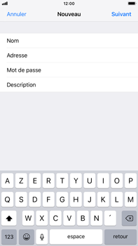 Apple iPhone 6s Plus - iOS 12 - E-mail - Configuration manuelle - Étape 10
