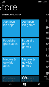Microsoft Lumia 640 XL - Applicaties - Downloaden - Stap 7