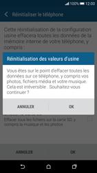 HTC Desire 626 - Aller plus loin - Restaurer les paramètres d'usines - Étape 7