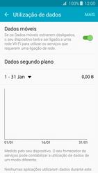 Samsung Galaxy J3 (2016) - Internet no telemóvel - Como ativar os dados móveis -  6