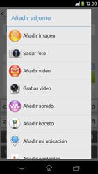 Sony Xperia M2 - Mensajería - Escribir y enviar un mensaje multimedia - Paso 15
