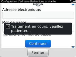 BlackBerry 9320 Curve - E-mail - Configuration manuelle - Étape 9