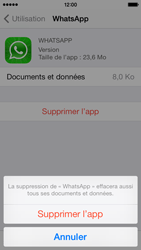 Apple iPhone 5s - Applications - Supprimer une application - Étape 7
