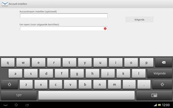 Sony SGP321 Xperia Tablet Z LTE - E-mail - e-mail instellen: POP3 - Stap 18