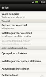 HTC T320e One V - Voicemail - Handmatig instellen - Stap 5