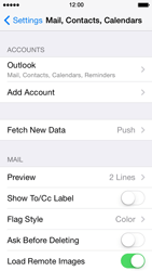 Apple iPhone 5s - Email - 032c. Email wizard - Outlook - Step 9