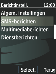 Nokia 301-1 - SMS - Handmatig instellen - Stap 6