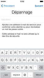 Apple iPhone 5s - Premiers pas - Créer un compte - Étape 30