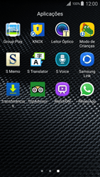 Samsung Galaxy S4 LTE - Aplicações - Como configurar o WhatsApp -  4