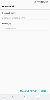 LG V30 - Email - 032b. Email wizard - Yahoo - Step 11