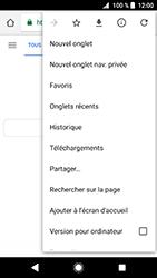 Sony Xperia XZ Premium - Android Oreo - Internet - navigation sur Internet - Étape 8