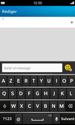 BlackBerry Z10 - Contact, Appels, SMS/MMS - Envoyer un SMS - Étape 4