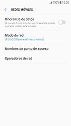 Samsung Galaxy J5 (2017) - Red - Seleccionar el tipo de red - Paso 6