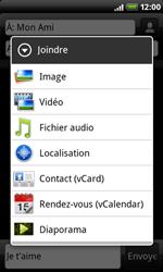 HTC A8181 Desire - MMS - Envoi d