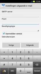 Acer Liquid E3 - E-mail - Handmatig instellen - Stap 13