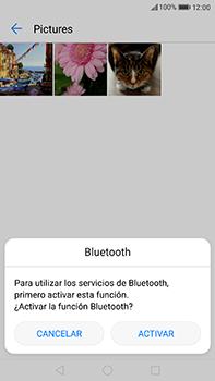 Huawei P10 Plus - Bluetooth - Transferir archivos a través de Bluetooth - Paso 9