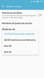 Samsung Galaxy J5 (2016) - Red - Seleccionar el tipo de red - Paso 6