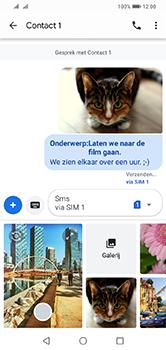 Huawei Y7 (2019) - MMS - afbeeldingen verzenden - Stap 19