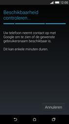 HTC Desire 816 4G (A5) - Applicaties - Account aanmaken - Stap 9