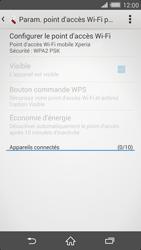 Sony Xperia Z2 - Internet et connexion - Partager votre connexion en Wi-Fi - Étape 7