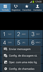 Samsung Galaxy Grand Neo - Chamadas - Como bloquear chamadas de um número específico - Etapa 5