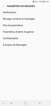 Samsung Galaxy A7 (2018) - SMS - configuration manuelle - Étape 6
