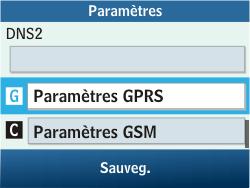 Samsung C3500 Chat 350 - MMS - configuration manuelle - Étape 12