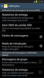 Samsung Galaxy S3 - SMS - Como configurar o centro de mensagens -  6