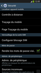 Samsung Galaxy S4 - Sécuriser votre mobile - Personnaliser le code PIN de votre carte SIM - Étape 6