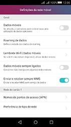 Huawei Y5 II - Internet no telemóvel - Como ativar os dados móveis -  5