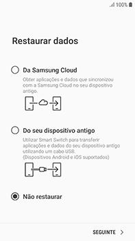 Samsung Galaxy S7 Edge - Android Oreo - Primeiros passos - Como ligar o telemóvel pela primeira vez -  18