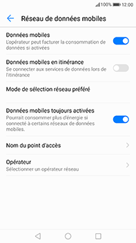 Huawei P10 Plus - Internet - Configuration manuelle - Étape 6
